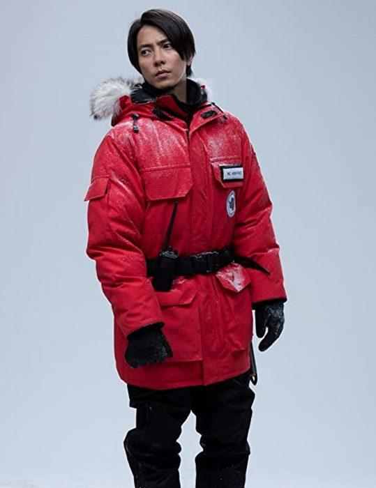 tomohisa yamashita the head aki parka red jacket