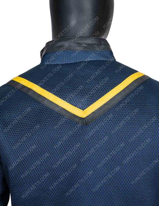 tv series vagrant queen tim rozon yellow stripe jacket