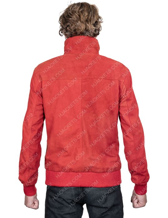 Jamie Foxx Project Power Red Leather Jacket
