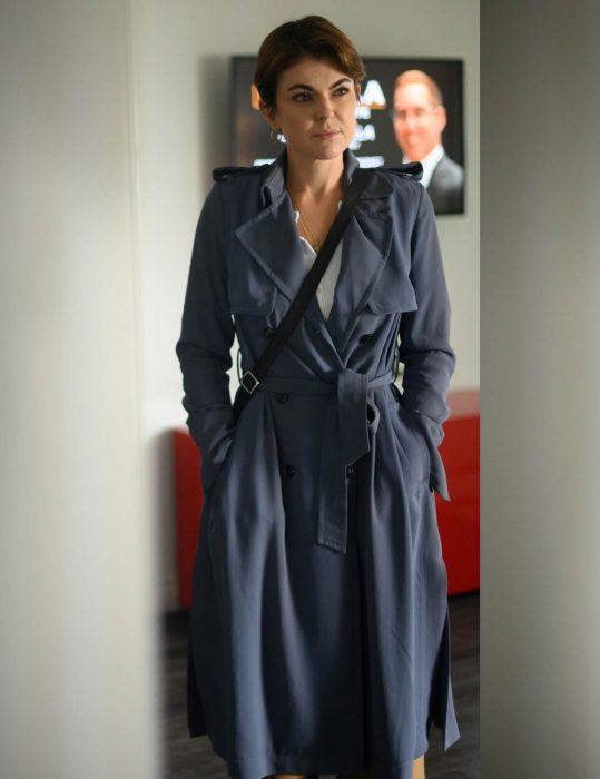 Jenny Cooper Coroner Season 02 Serinda Swan Trench Coat