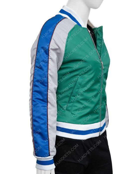 KiKi Layne The Old Guard Nile Freeman Bomber Jacket