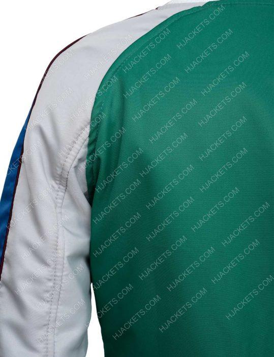Layne Freeman The Old Guard Nile KiKi Green Bomber Jacket