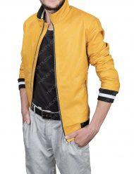 Love, Victor Leather Jacket