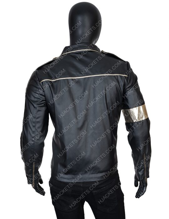 Michael Jackson Tribute Leather Jacket