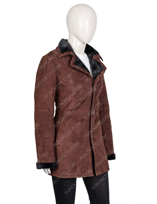 Monica Dutton Yellowstone Kelsey Asbille Brown Coat