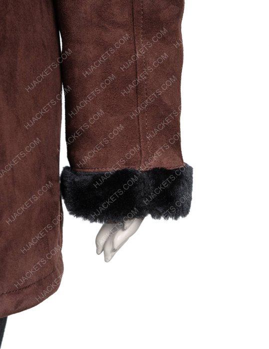 Monica Dutton Yellowstone Kelsey Asbille Shearling Coat