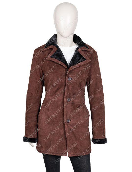Monica Dutton Yellowstone Shearling Coat