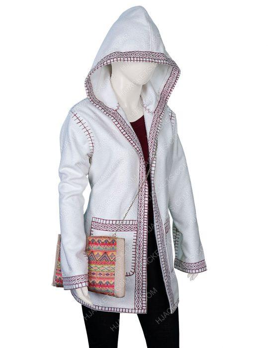 Rachel McAdams White Coat
