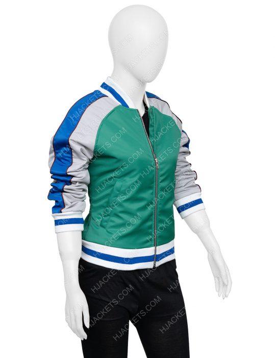 The Old Guard Nile Freeman Green Bomber Jacket