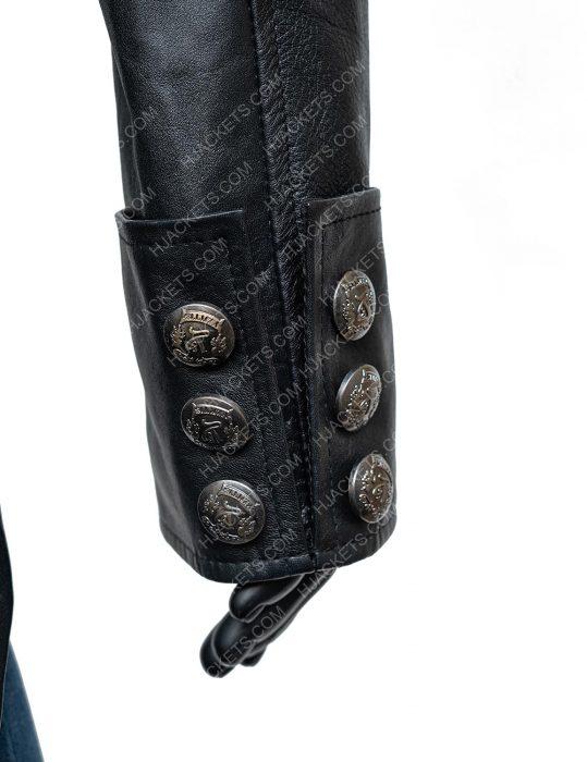 WWE Bray Wyatt The Fiend Black Leather Jacket