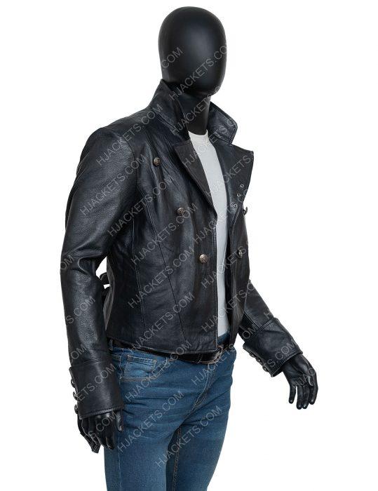 WWE Superstar Bray Wyatt The Fiend Black Leather Jacket