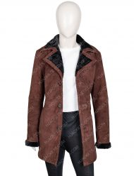 Yellowstone Kelsey Asbille Shearling Coat