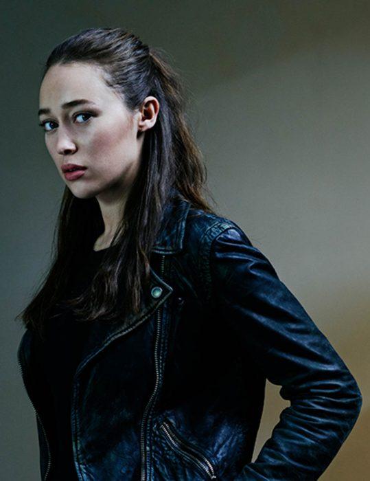 alycia debnam carey fear the walking dead alicia clark leather jacket