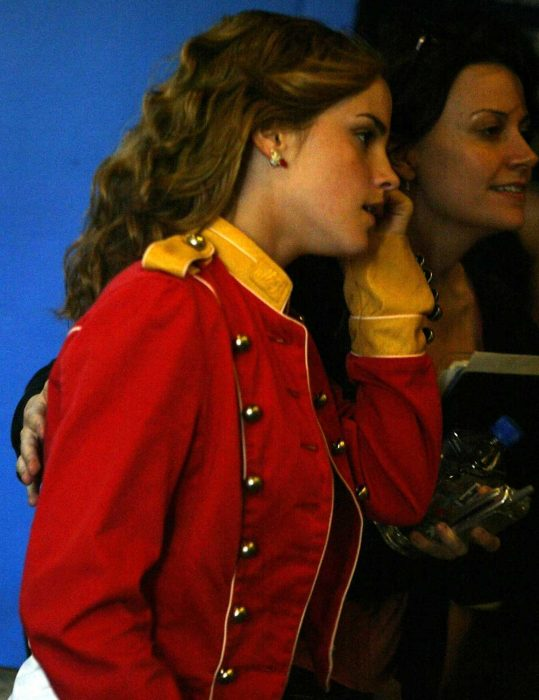 emma watson military jacket