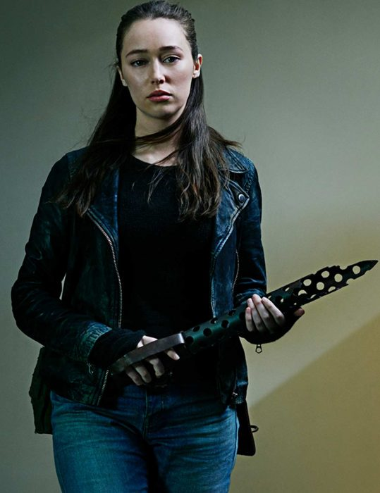 fear the walking dead alicia clark leather jacket