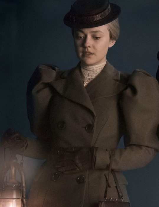 sara howard the alienist angel of darkness dakota fanning wool coat