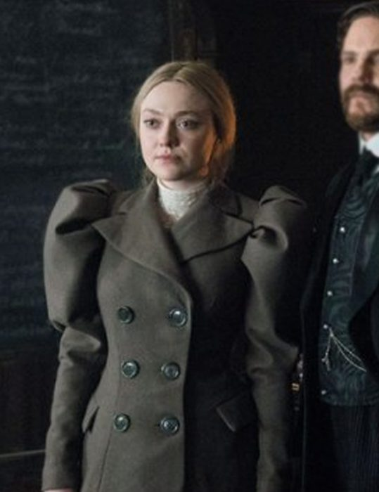 the alienist angel of darkness dakota fanning coat