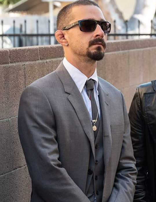 the tax collector shia labeouf suit