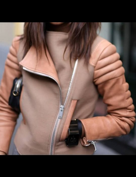 womens-winter-peach-leather-zipper-jacket