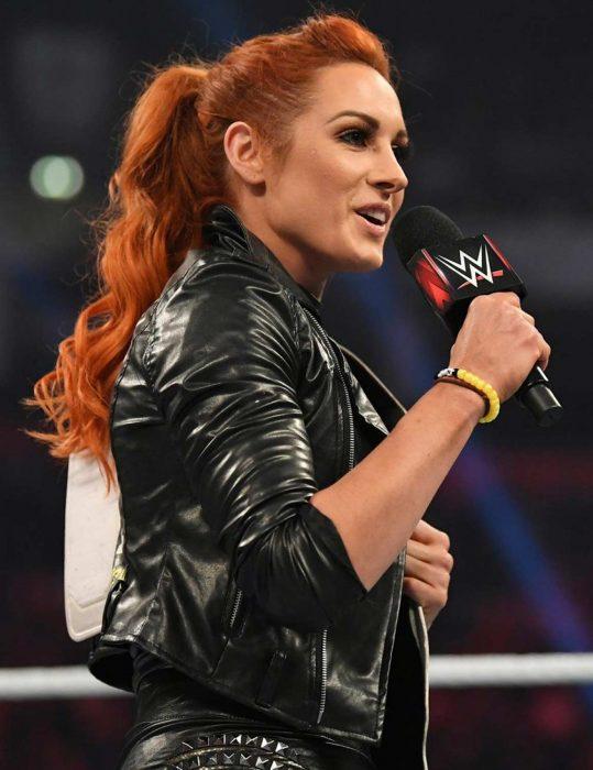 wwe superstar rebecca quin jacket