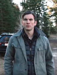 Jamie Dutton Cotton Grey Jacket