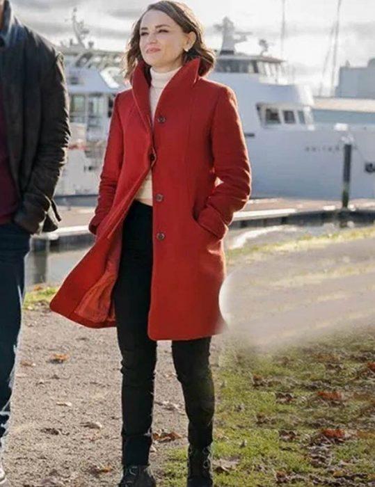 Love, Guaranteed Susan Red Coat.