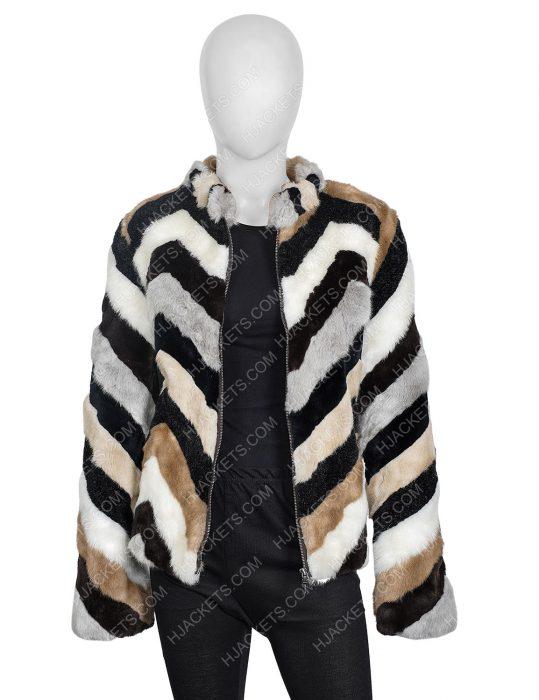 Nikki Swango Fargo S03 Mary Elizabeth Winstead Fur Jacket