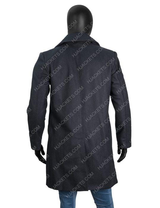Resident Evil 8 Chris Redfield Village Black Wool Coat