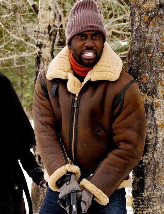 Shamier Anderson Wynonna Earp Season 4 Shearling Jacket