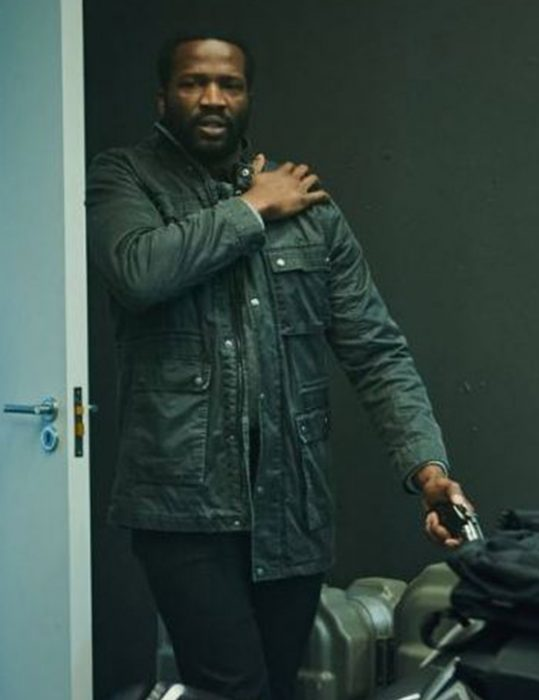 Sope Dirisu Gangs Of London Leather Jacket