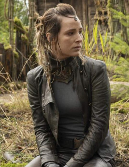 The 100 Season 7 Shelby Flannery Jacket