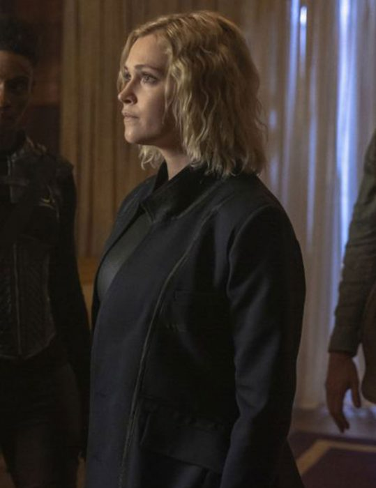 The 100 Season 7 clarke griffin Coat