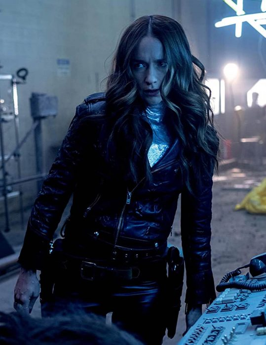 Wynonna Earp Season 4 Black Leather Jacket