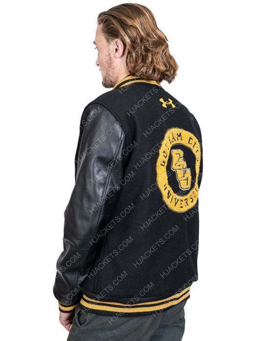 Zack Snyder's Justice League Cyborg Ray Fisher letterman Jacket