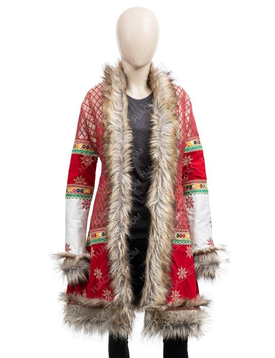 anna kendrick christmas coat