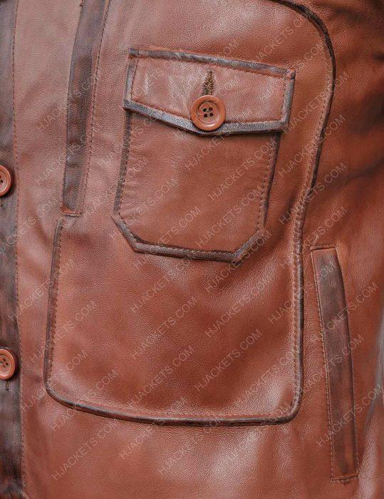 howard hughes the aviator leonardo dicaprio leather jacket