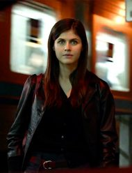 margaret lost girls and love hotels alexandra daddario leather jacket