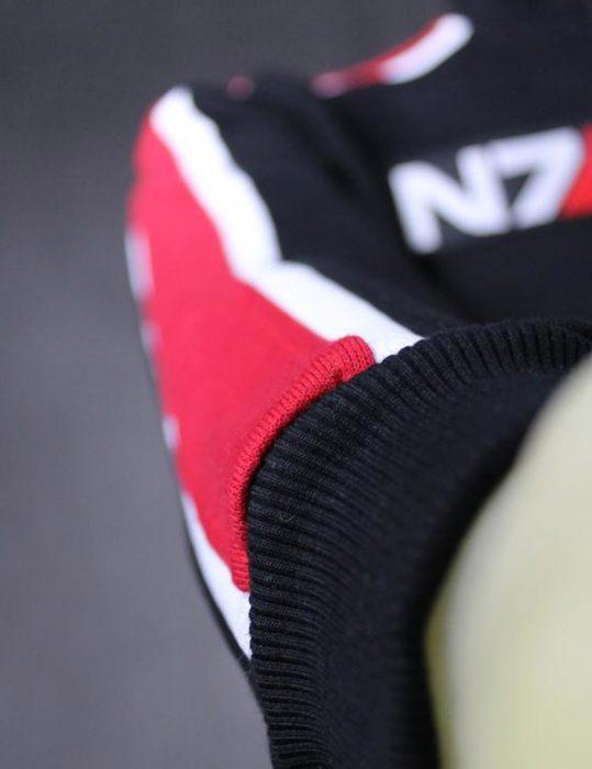 mass effect 3 n7 zipper hoodie