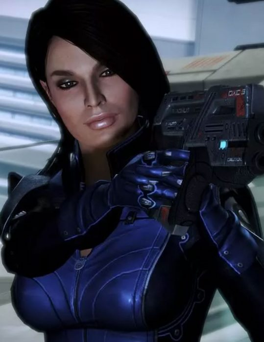 mass effect 3 video game ashley williams cosplay jacket