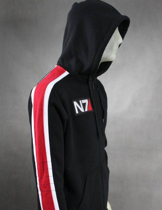mass effect 3 video game n7 hoodie