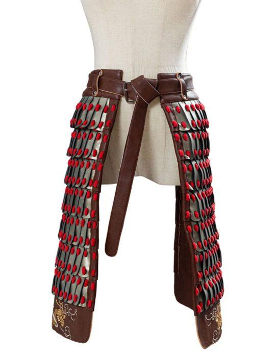 mulan yifei liu corset belt armor