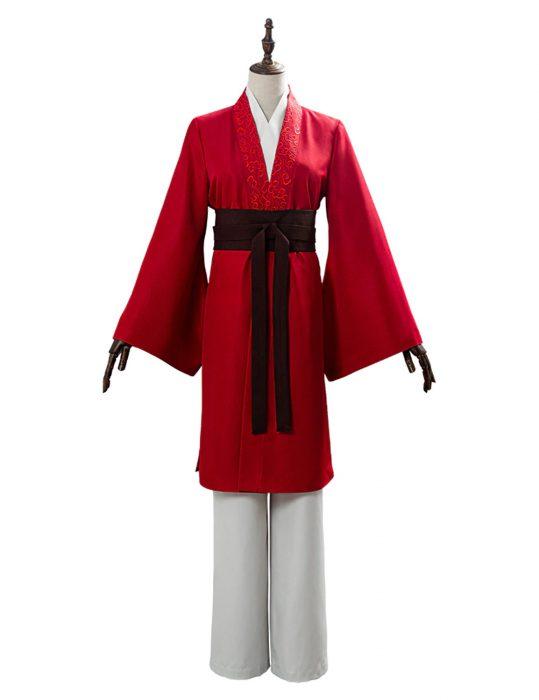 mulan yifei liu cosplay coat