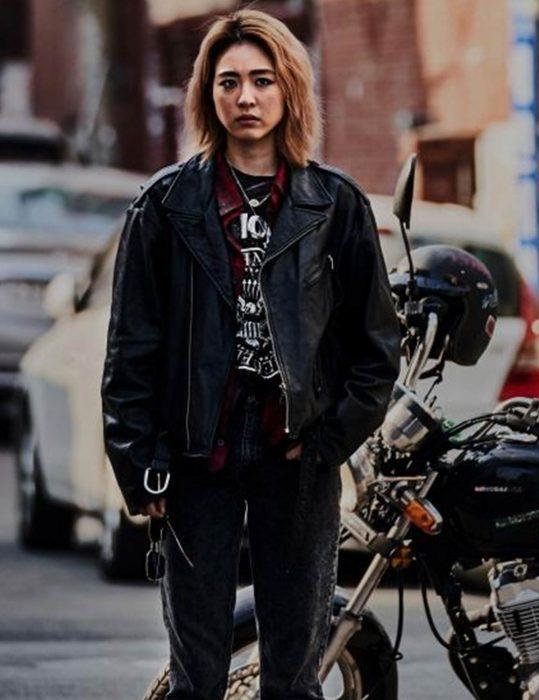 sf8 yeon-hee lee biker jacket