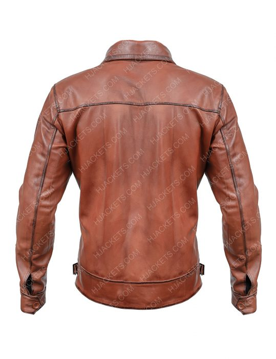 the aviator leather jacket