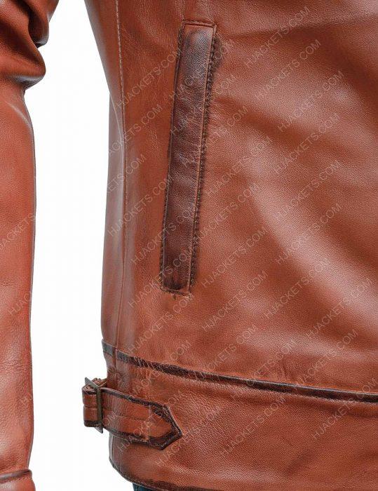 the aviator leonardo dicaprio leather jacket