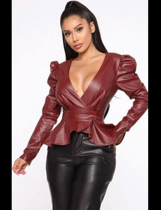 The Real Housewives of Potomac Gizelle Bryant Leather Jacket