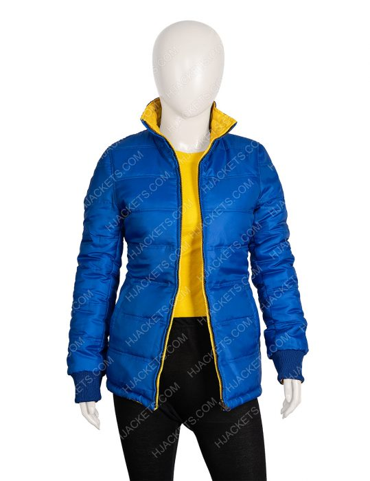 Billie Eilish 2 Side Yellow Puffer Jacket