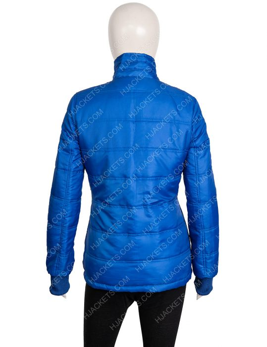 Billie Eilish Blue Puffer Jacket
