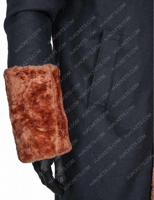 Candyman Anthony McCoy Shearling Coat