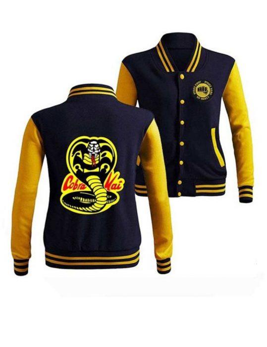 Cobra Kai Letterman Jacket
